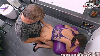 Tits Reife deutsche Saggy Reife Dame